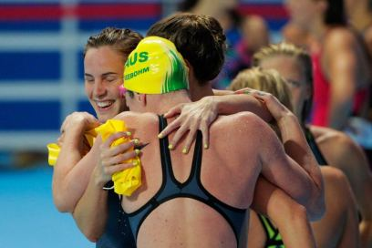 aussie women relay